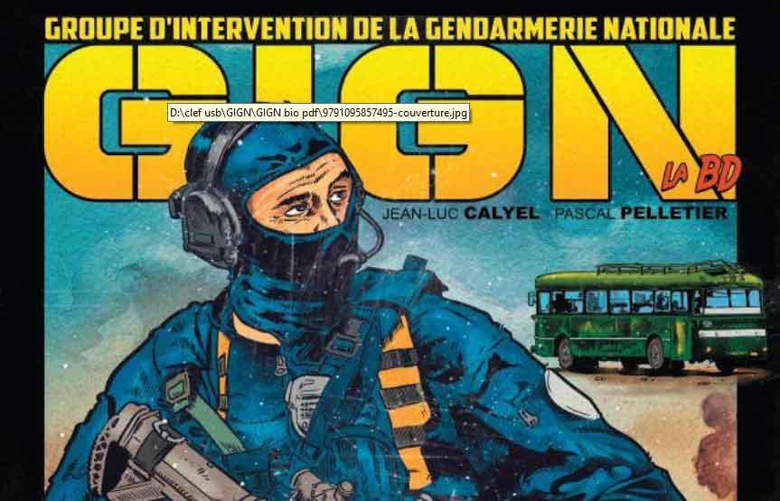 """Sortie officielle de """"GIGN La BD"""""""