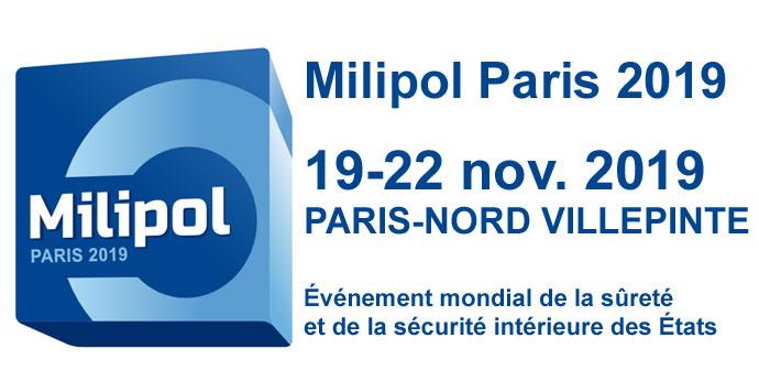 Visitez gratuitement Milipol Paris 2019