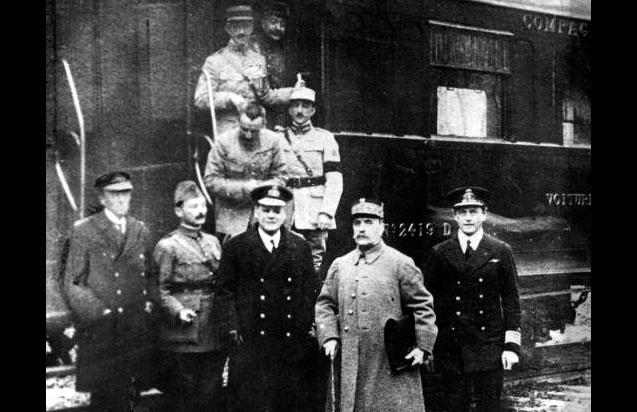 11 novembre – Armistice de 1918