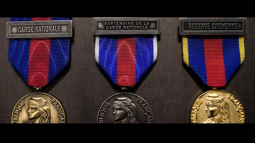 Médaille des réservistes volontaires de défense et de sécurité intérieure