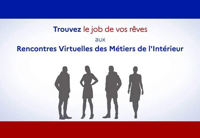Participez au premier évènement digital de recrutement du ministère de l'Intérieur !